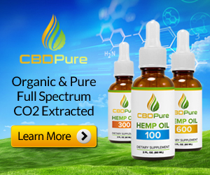 Organic, Pure, Full Spectrum, CO2 Extracted CBDPure
