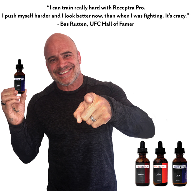 Bas Rutten - Former UFC Heavyweight Champion and three-time King of Pancrase world champion